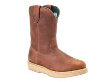 Georgia Wellington Barracuda Gold Wedge ST Work Boot G5353