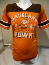 Womens Ladies CLEVELAND BROWNS Motherhood MATERNITY Football Jersey Shirt NEW