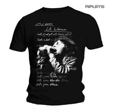 Official T Shirt THE DOORS Jim Morrison LA WOMAN LYRICS All Sizes