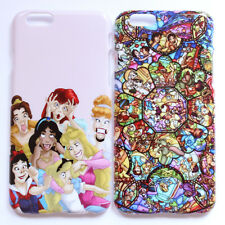 Disney Princess Alice Ariel Stained Pattern Hard Case Cover For Apple iPhone 6