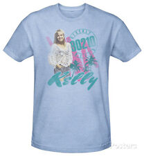 Beverly Hills 90210 - Kelly Vintage T-Shirt Light Blue Heather