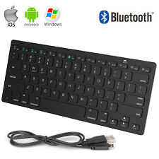Universal Ultra Thin Wireless Bluetooth Keyboard for IOS Android Windows Tablet