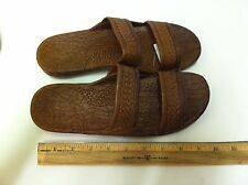 PALI Hawaii Brown Jesus Style Sandals Womans sizes 7 8 9