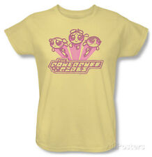Womens: Powerpuff Girls - Retro Logo T-Shirt