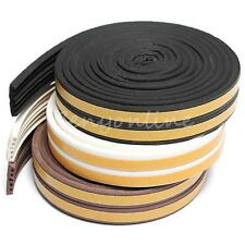5M Window Door Excluding Draft Seal Strip Self Adhesive Rubber Roll E Tape