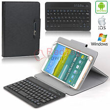 Universal PU Leather Wireless Bluetooth Keyboard Case Cover for 7/8 inch Tablet