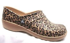 Crocs Neria Leopard Print Clog Relaxed Fit Womens