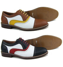 Ferro Aldo MFA-19355  Mens Lace Up Dress Classic Oxford Shoes w/ Leather Lining