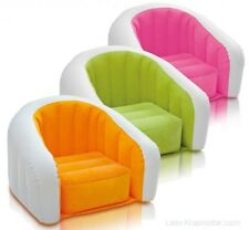 Genuine Intex Cafe Club Chair Inflatable Lounge Chair Outdoor indoor