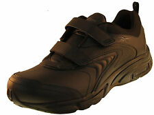 Reebok Duty Proof New Mens Black Leather Work Shoes Sz 6.5 7 7.5 & 13 Ret $78A