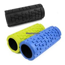 "Black Foam Roller - 5""x13""DEEP TISSUE POINT MASSAGE TRIGGER"