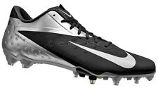 new-nike-vapor-talon-elite-low-td-mens-football-cleats-blacksilver-140msrp