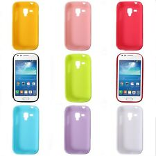 Slim TPU Gel Custodia Cover Silicone Case Per Samsung Galaxy Trend Plus S7580