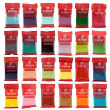 Renshaws Regalice 250g of Ready Roll Icing Sugarpaste Fondant Bright Colours