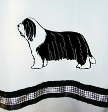 Bearded Collie Beardie Dog Shower Curtain - Colors - Our Original