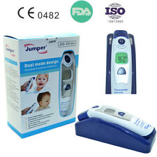 Jumper Baby fever monitor Ear Forehead Laser IR Infrared Digital Thermometer LCD