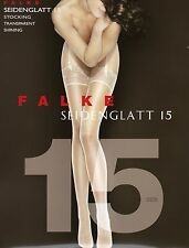 Falke Stocking, Stockings, Stockings for Hook Up, Silky Smooth 15, New in