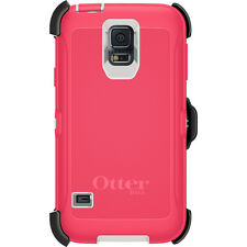 OtterBox Samsung Galaxy S5 Defender Case & Holster Belt Clip OEM GENUINE +COLORS