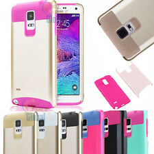 Hybrid Shockproof Protective Hard Case Cover Skin For Samsung Galaxy Note 4 IV
