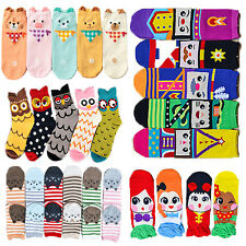 Women's New Fun Hosiery Korea Style Sock Fashion Multi-Colors Cute Hosiery Short