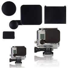 Camera Lens Cap /Housing Case /Battery Door / Side Door Cover GoPro HD Hero 3 3+