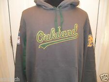 Brand New Embroidered Oakland Athletics Long Sleeve Hooded/Hoodie Sweatshirt