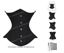 Heavy Duty Double Boned Waist Training 26 Steel Bones Underbust Corset #450B(TC)