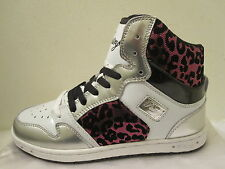 Women's PASTRY Glam Pie Foil cheetah shoes white pink