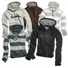 # SURPLUS™ Raw Vintage Hoody Jacke Hoodies Damen & Herrenmodelle Stripe/Plain/V-