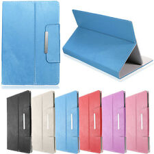 """Folio PU Leather Case Cover Stand Holder For 10.1"""" Inch Tablet PC Tab Universal"""