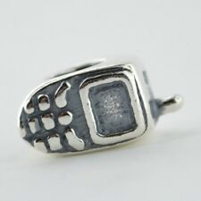 Sterling Silver 925 European Charm Cell Phone Bead 88162
