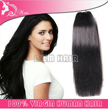 1pcs Remy 6A Virgin Straight Weaves Colors Brazilian Human Hair Extensions 100g