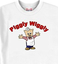 Piggly Wiggly White T-Shirt - Dog Blue Sweatshirts and Mouse Pads Available