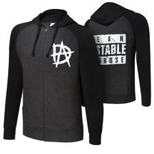 Dean Ambrose Unstable WWE Authentic Mens Zipper Hoody Sweatshirt
