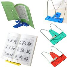 Adjustable Angle Foldable Portable Reading Book Stand Document Holder New