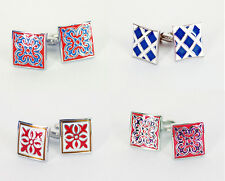 Lord R Colton Enamel Cufflinks - Stupid Deal of the Day - $59 Retail