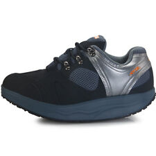 Premium Womens Sports Diet Walking Leather Navy Shoes