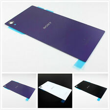 New Original Color Battery Back Glass Cover Panel for Sony Xperia Z1 L39h C6903