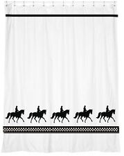 Dressage Horse Shower Curtain *Your Choice of Colors* - Original