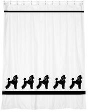 Poodle Standard Mini Toy Dog Shower Curtain *Your Choice of Colors* - Original
