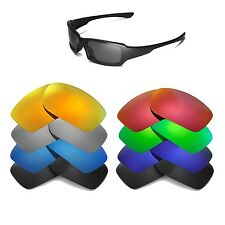 Walleva Replacement Lenses for Oakley Fives 3.0 Sunglasses -Multiple Options