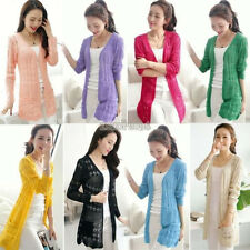 WOMEN'S FASHION KNITTED CARDIGAN BATWING OUTWEAR COAT TOPS LOOSE SWEATER