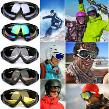 Outdoor Sports Snowboard Anti Fog Protective Glasses Snow Ski UV400 Goggles