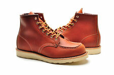"Red Wing Men's Boots 6"" Inch 875 Classic Moc Oro Legacy Oil Tanned"