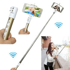 Extendable Handheld Bluetooth Selfie Stick Monopod Tripod For iPhone Cell Phone