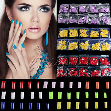 500Pcs French False Style Fake Nail Art Full/Half Acrylic Artificial UV Gel Tips