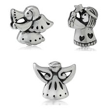 925 Sterling Silver ANGEL European Charm Bead