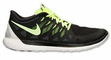 New NIKE Free 5.0 2014 Running Shoes Mens black/volt