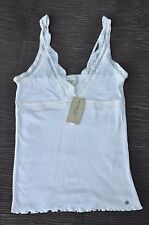 Denim and Supply Ralph Lauren Women's Tank Top Ribbed Lace Cami Pink NEW