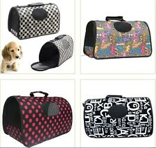Travel Cage Cat house Portable Dog Pet Puppy Carrier Handbag Kennel Bag S M L